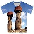 2016 Verano Hombres/Mujeres 3D Impreso Camiseta de la Galaxia del Espacio de Dibujos Animados Fruta Carretera Patrón De Impresión Camiseta Camisetas Tee Shirts tamaño XS-6XL