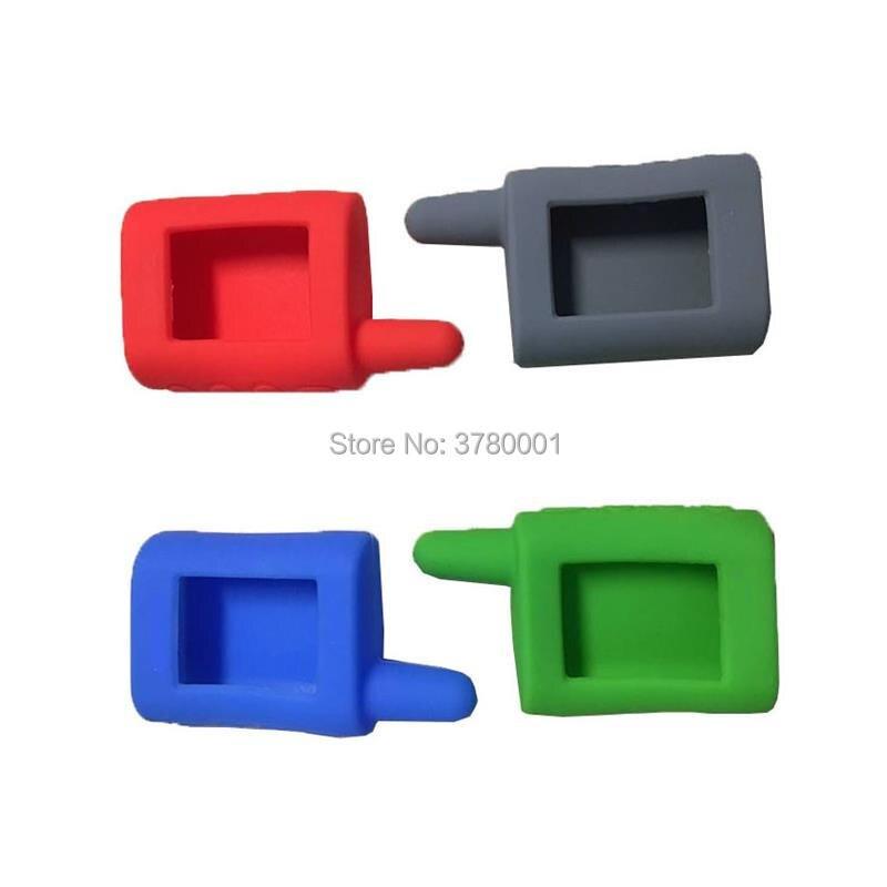 MA Silicone Key Case For SCHER-KHAN Magicar A B LCD Remote Starter Two Way Car Alarm System SCHER KHAN Magicar MA MB