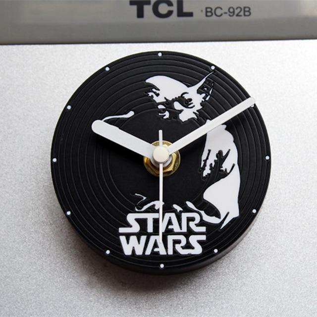 Reloj de cocina Diseño moderno refrigerador pegatinas 3d imanes decorativos  nevera vinilo CD Relojes pared decoración del hogar