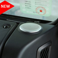 2Pcs Car Dashboard Speaker Cover Trim Aluminum alloy Fit For Jaguar XE 2015 2016 For Jaguar XF/XFL 2016 Car Styling Accessories