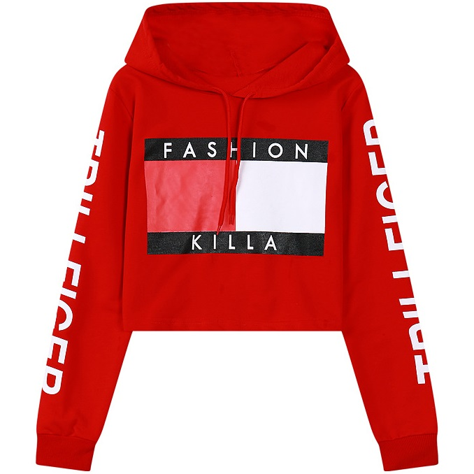 Popular Cropped Hoodie Pullover-Buy Cheap Cropped Hoodie Pullover ...