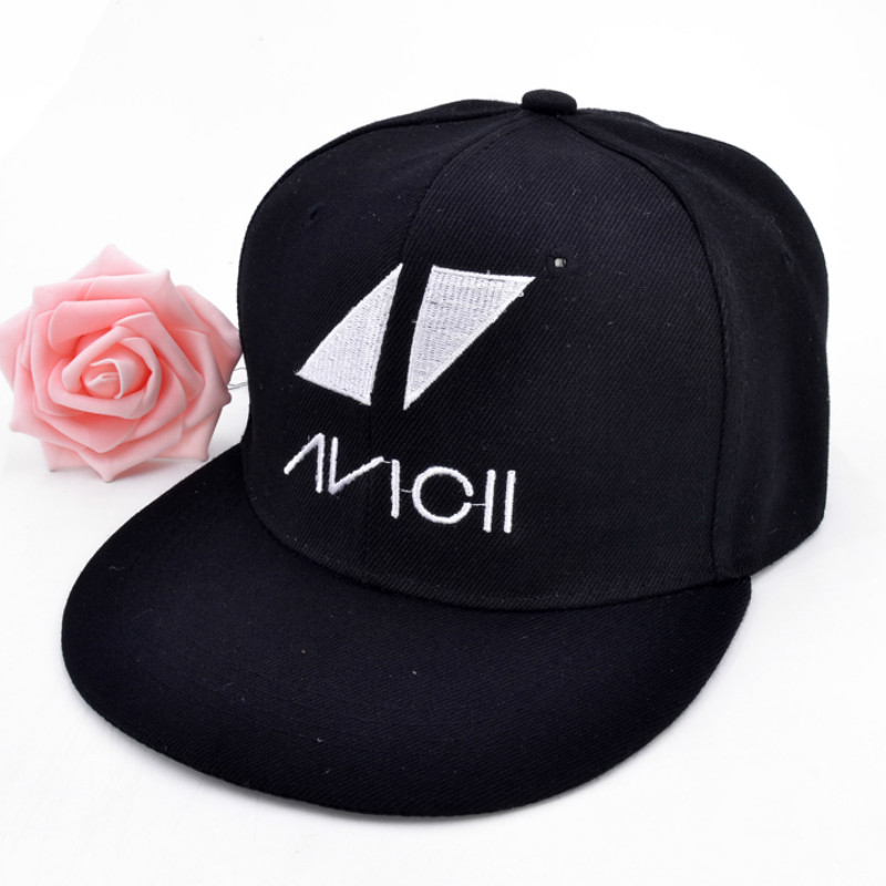 Dj Avicii Music Festival Tour Indie Rock Punk Album Band embroidery Baseball cap Fashion Women Men hip hop hat