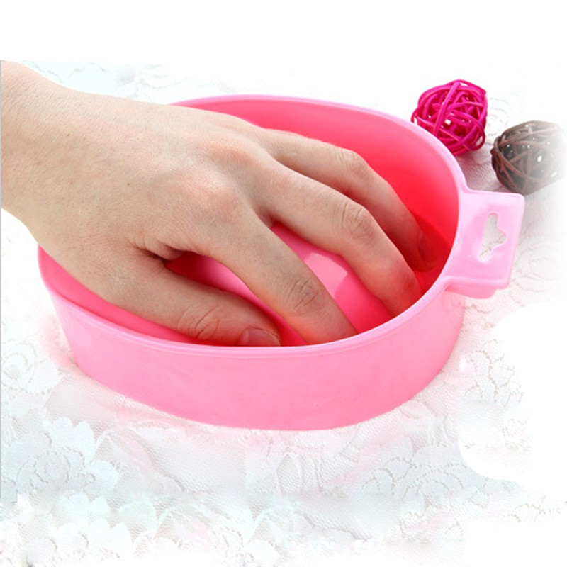 Nail Art Soak Bowl Hand Remove Manicure Treament Polish Washing Polish Bowl Nail Art Equipment Beauty Manicure Tools