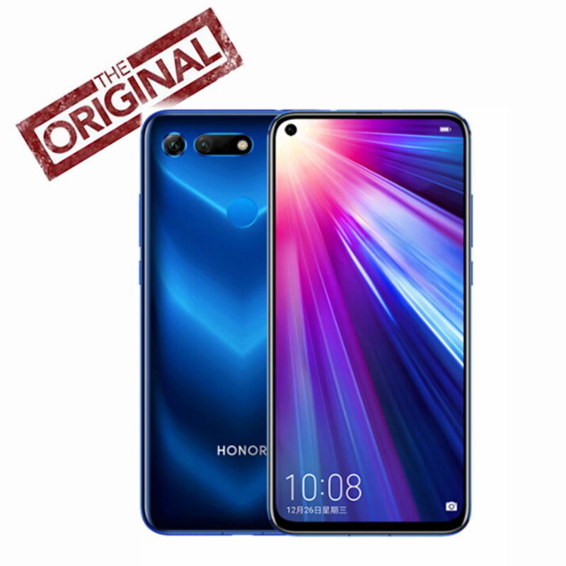 New Original Huawei Honor V20 Honor View 20 Mobile Phone NFC Face ID Kirin 980 Octa