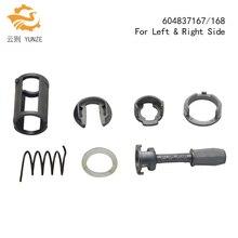 OE 604837167/168 подходит для VW GOLF 4 IV MK4 A6 SKODA FABIA POLO 9N Ремонтный комплект дверного замка для левой и правой стороны Новинка 7 шт