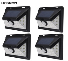34 LED solar lighting IP65 Wide Angle Security Motion Sensor Light with