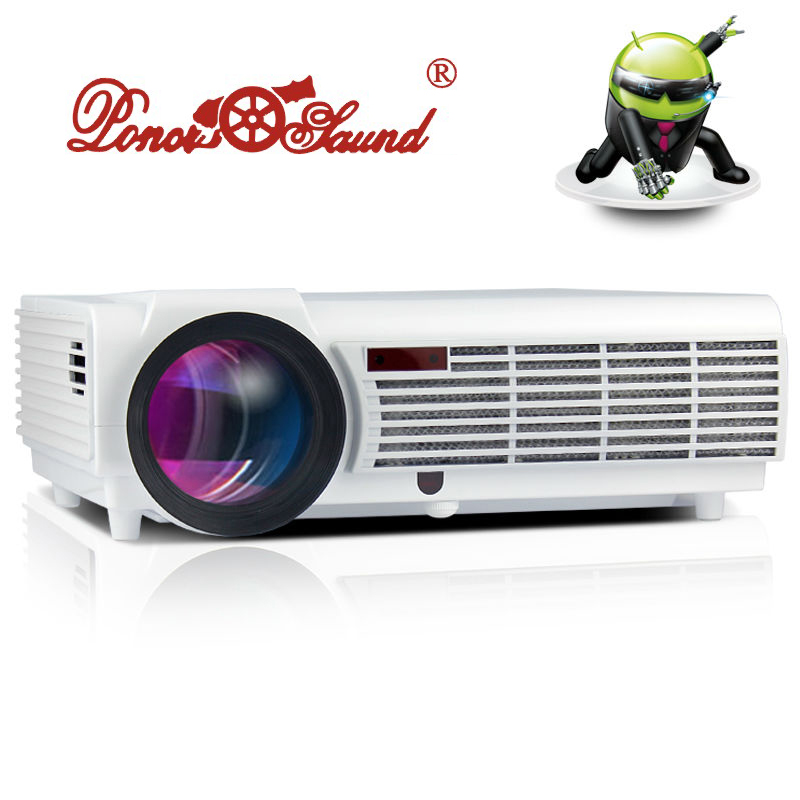 Smart 5500lumens Android Wifi Home Theater 1080P Bluetooth LCD Video LED fuLL HD Projector projektor Proyector