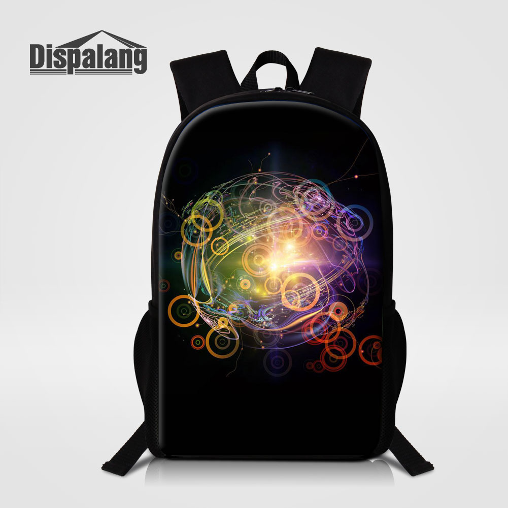Dispalang Personalized Design School Bags For Children Fashion Mochilas Women Men Casual Shoulder Bag Kids Backpack Rugtas Pack