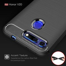 Coque Cover 6.4For Huawei Honor View 20 Case For Huawei Honor View 20 10 View20 View10 V20 V10 Phone Back Coque Cover Case(China)