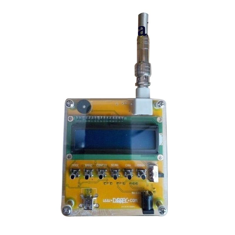 1 x Yellow CCL MR100 Digital Shortwave Antenna Analyzer Tester 1 60M for Ham Radio Q9