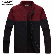 New AFS JEEP Winter 2018 Clothing Sweater Men's Comfortable Warm Sweater Men's Long Sleeves Solid Color Sweater 79