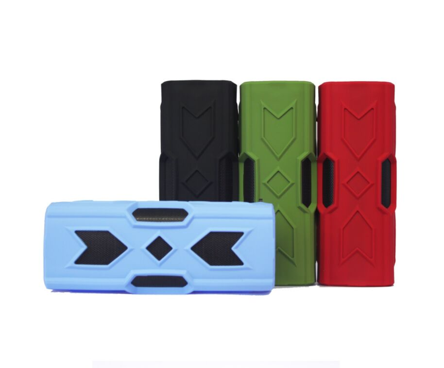 30Pcs Waterproof Bluetooth Speaker NFC Power Bank Shockproof Stereo Wireless Player Bicycle Cycling Audio Sound Subwoofer Box