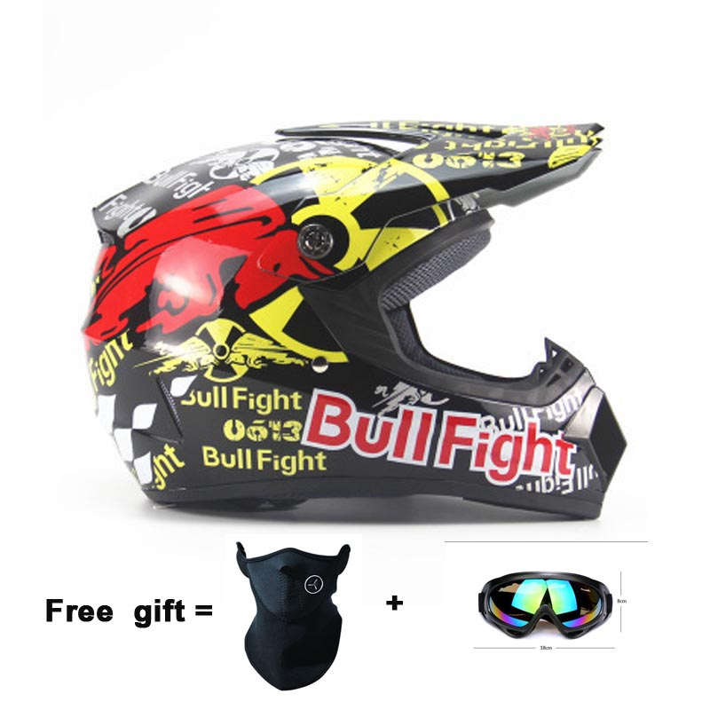 Children motorcycle helmets Cycling Motocross Downhill Safety helmet Off Road motorcycle Adult motocross Helmet