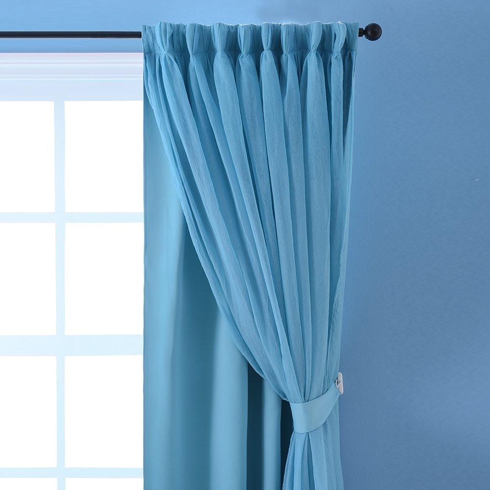 thermal lined color set fabric efficiency curtain dove window performance gray com flamingo silky insulated dp grommet energy drapery p amazon blackout curtains