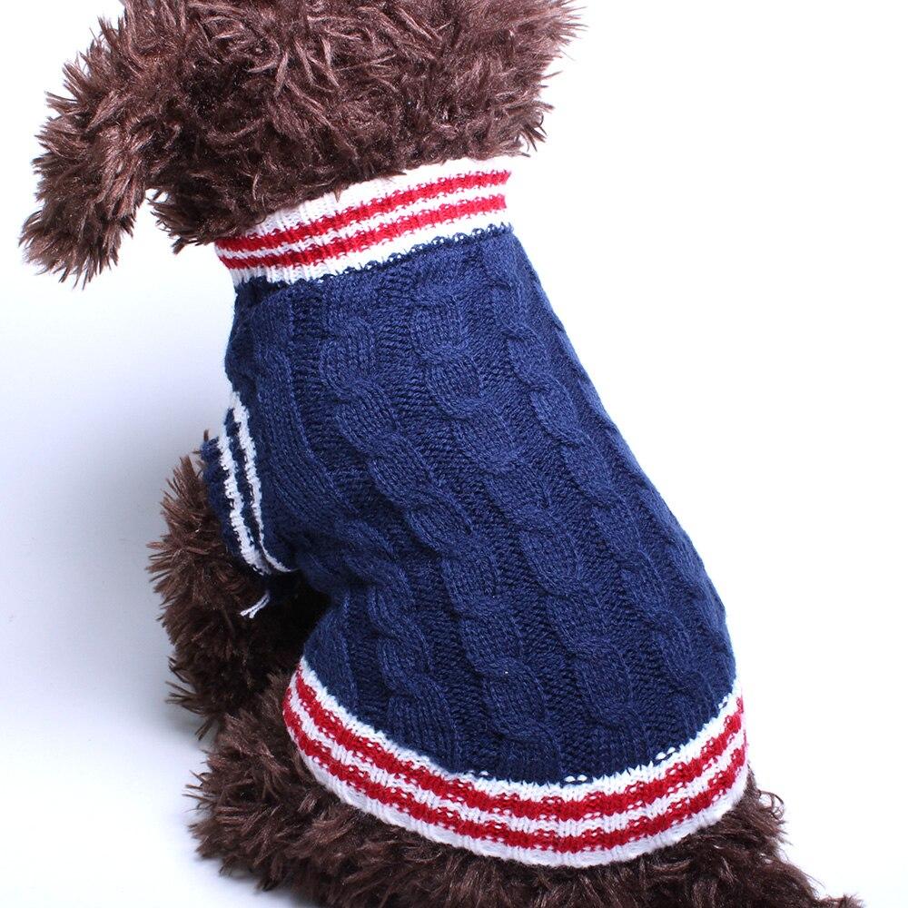 Σκύλος σκύλος πουλόβερ Preppy στυλ Jumper Pet - Προϊόντα κατοικίδιων ζώων - Φωτογραφία 6