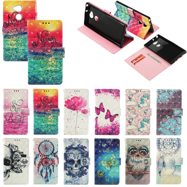 online store 0c41b dbe96 US $4.71 |3D Flip Case For Nokia 2.1 3.1 5.1 6.1 Leather Phone Case For  Nokia 7 Plus Cover Wallet Holder Owl Flower Butterfly For Nokia 6-in Wallet  ...