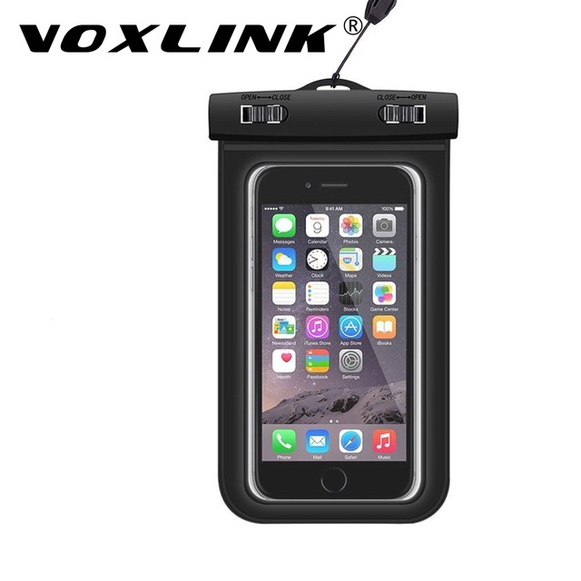 best cheap a8589 a9832 US $3.73 |VOXLINK Mobile Phones Bag Waterproof Pouch Underwater Hiking  Dirtproof Ski Snowproof Pouch for Apple iPhones Samsung Huawei HTC-in Phone  ...