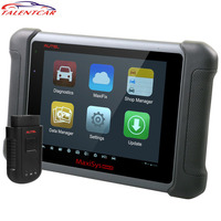 100 Original AUTEL MaxiSys MS906BT OBD2 Bluetooth ECU Coding Scanner MS906 BT Wireless Car Diagnostic Tools