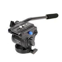 XILETU מקצועי וידאו מצלמה נוזל גרור חצובה ראש עם שחרור מהיר עבור DSLR ירי Q19813