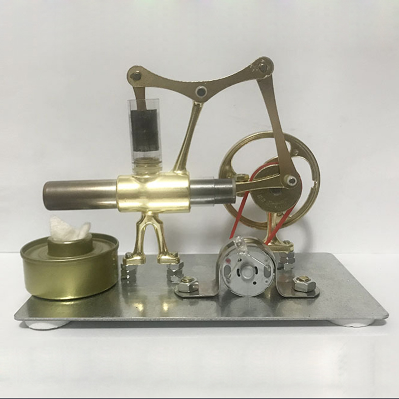 Tianping Sterling engine miniature model steam power technology science small production power generation experiment toy diy manual technology small production creative vacuum cleaner student science experiment manual assembly of toy materials