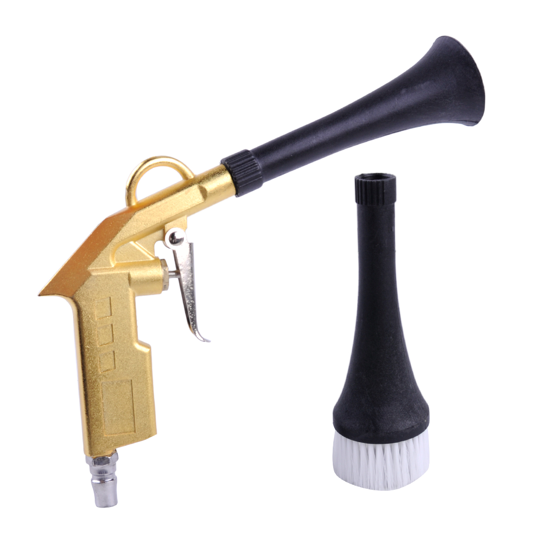 CITALL Universal Tornado Car Motorcycle Machine Dry Cleaning Gun Brush Funnel Interior Clean Funnel Without Brush Spray Tool