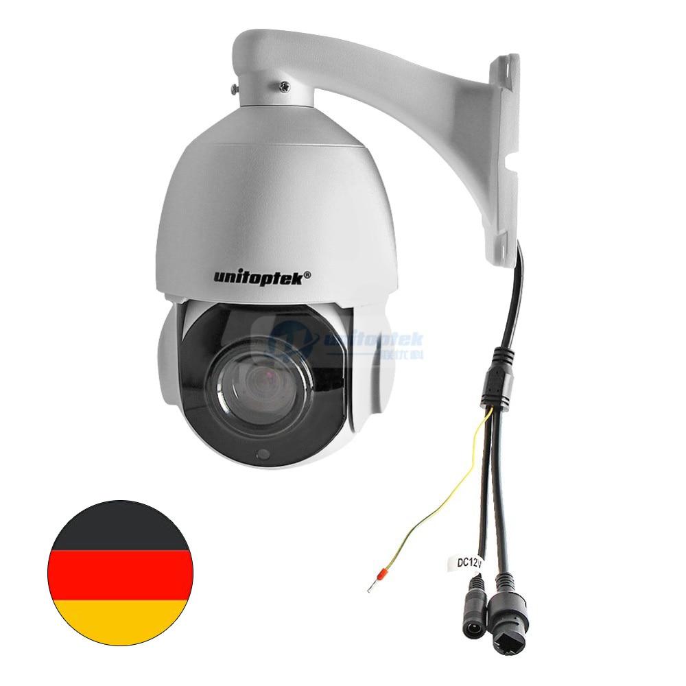 HD H.265 5MP PTZ Dome IP Camera Outdoor Network ONVIF 2592x1944 30X Zoom 4 Inch Mini Speed Dome IP Camera CCTV 50m IR Night View