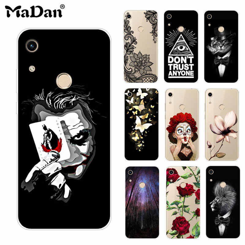 Honor 8A case cover For Huawei Honor 8A case fundas soft silicone case Phone cover For Huawei Honor 8A JAT-LX1 8 A Honor8A Case