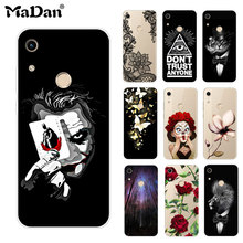 Honor 8A case cover For Huawei fundas soft silicone Phone JAT-LX1 8 A Honor8A Case