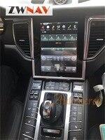 ZWNVA Tesla Style Screen Newest Android 6 0 64 2GB Car Radio GPS Navigation For Porsche