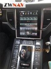 ZWNVA Тесла стиль экран Новые Android 6,0 автомобиль радио gps навигации для Porsche Macan 2014 2015 2016 2017