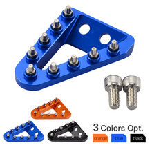 NICENC Wider Foot Rear Brake Pedal Lever Step Tip Plate For Husqvarna FC FE TC TE FX FS 125 150 250 350 450 501 2016 2017 2018