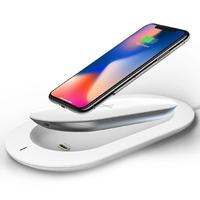 Mipow QI Wireless Charger Power Bank 5000mAh 5V 3A Portable External Battery Powerbank for iphone 8/X Wireless Charging