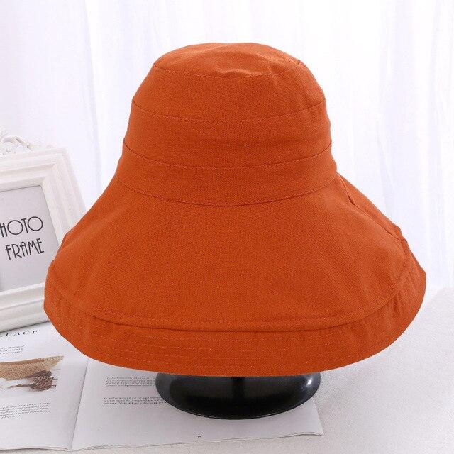 VISROVER Bucket Hats Cotton...
