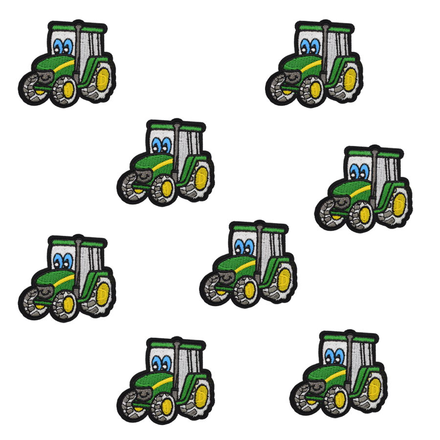 Cool Big John Deere Tractors IRON-ONS FABRIC APPLIQUES IRON-ONS New