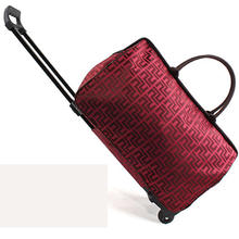 Hand Luggage Trolley Travel Bag 20 Inch Waterproof Oxford Silent wheel Bags On Wheels Unisex Rolling Duffle mala males journey Bags