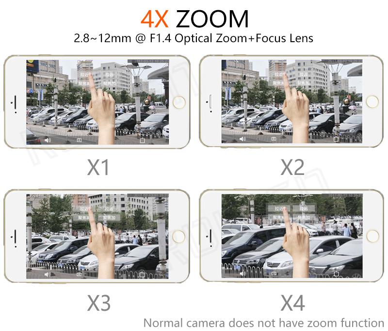 Zoom PTZ outdoor camera IP 05