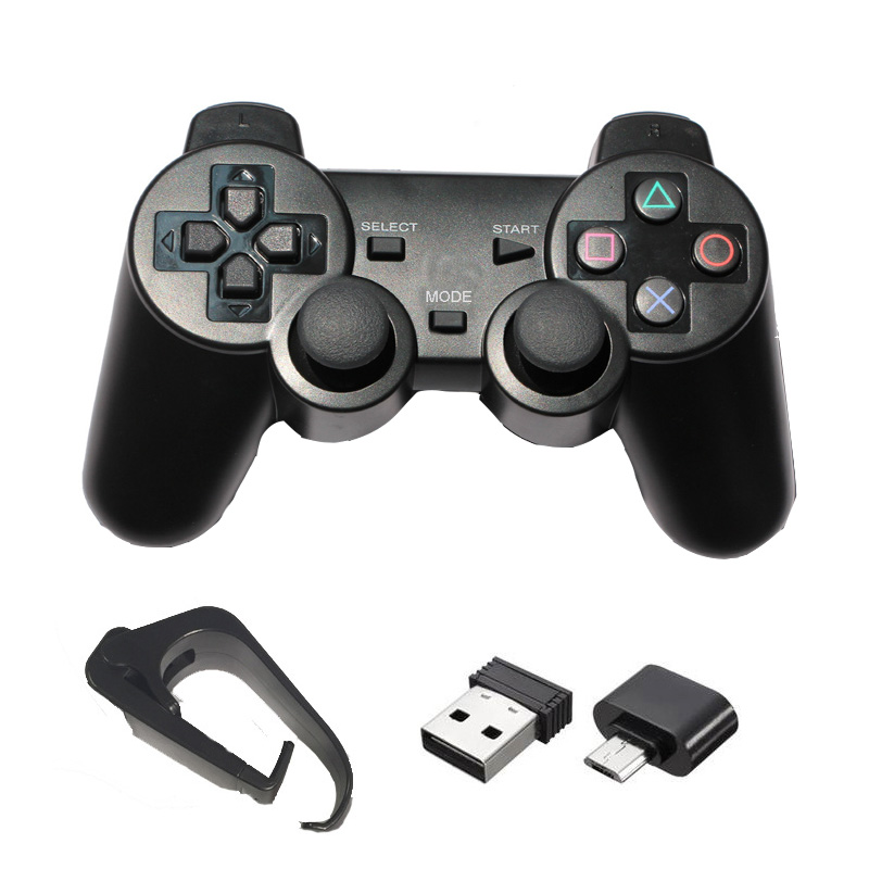 2.4G Wireless Game Controller For PS3 / PC / Android Phone