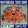 Injection Fairing Sets For Hayabusa SUZUKI 08 GSX1300R 09 Brown Black GSXR1300 2009 2010 2011 2008