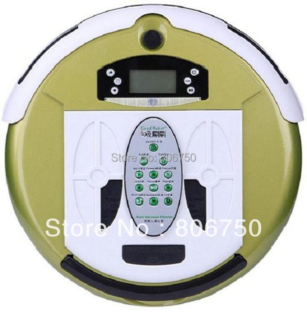 (Good News For Russian Buyer) 4 In 1 Multifunctional Robot Vacuum Cleaner (Auto Recharged,Remote Controller, UV ligths,LCD)