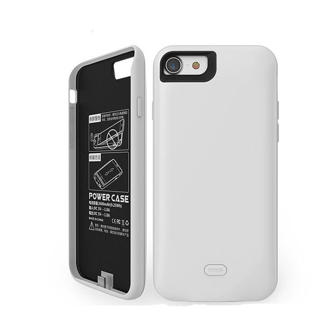 """20pcs 5600mah Rechargeable Battery Pack External Backup Powerbank Portable Charger Power Case for iPhone 7 Plus 5.5"""""""