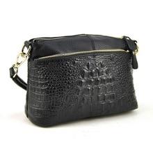 100% Genuine Real Cow Leather Women's Bag Design New Brand Crocodile Fashion Handbags Alligator Shoulder Bags For Women