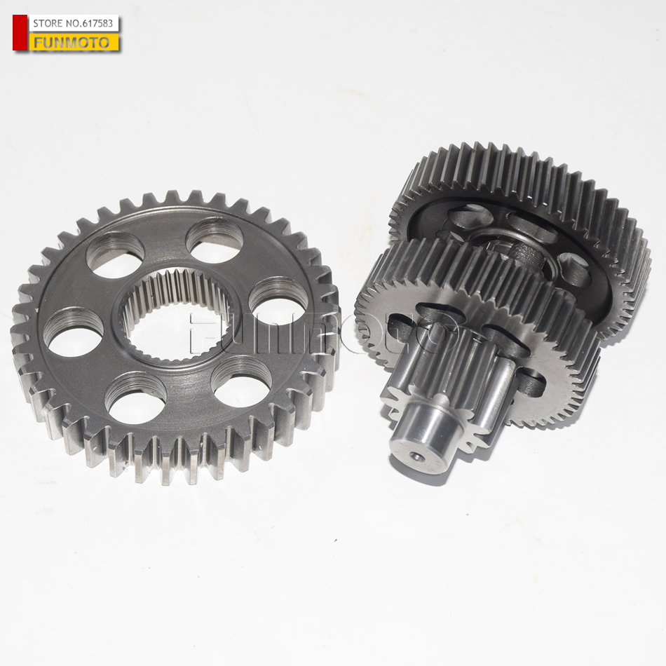 Differential reverse gear and middle gear suit for XYKD260 XINYUE 260 ATV GSMOON 260