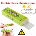 New Creative Halloween Safety Electric Shock Chewing Gum Tricky Joke Birthday Gift Classic Magic Supplies
