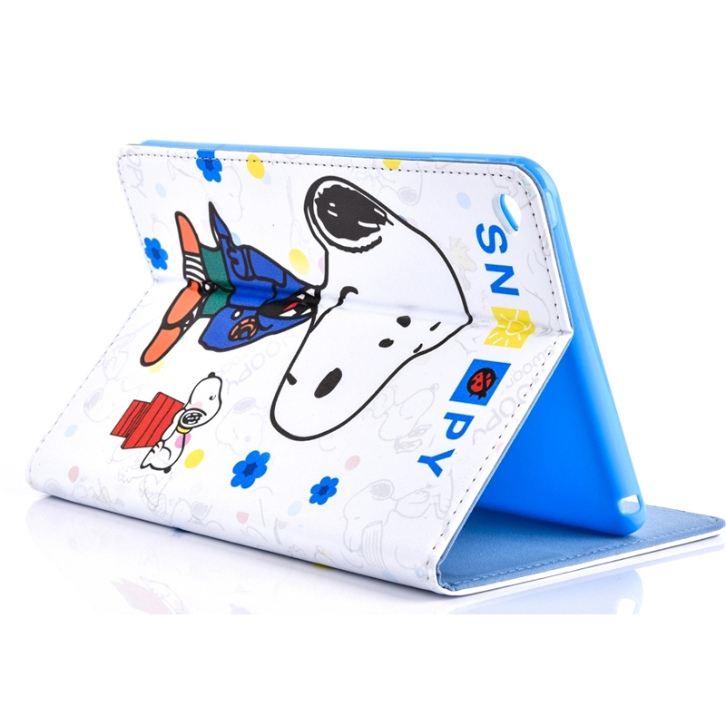 Case for Apple ipad mini 4 ten cartoon characters smart sleep tablet PU leather Cover multifunctional shell coque