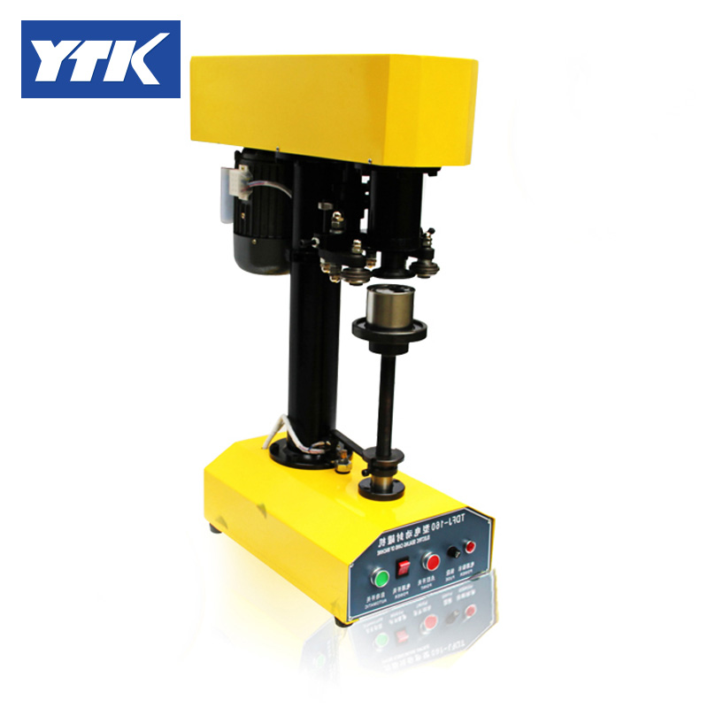 YTK PET Seamer Tinplate Cans / Plastic Cans / Food Cans / Sealing Machine Capping Machine
