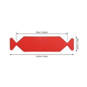 Image 5 - Foshio 100pcs 3 레이어 패브릭 펠트 천으로 방수 가장자리 10cm 탄소 섬유 비닐 스퀴지 자동차 랩 창 색조 스크레이퍼 천으로