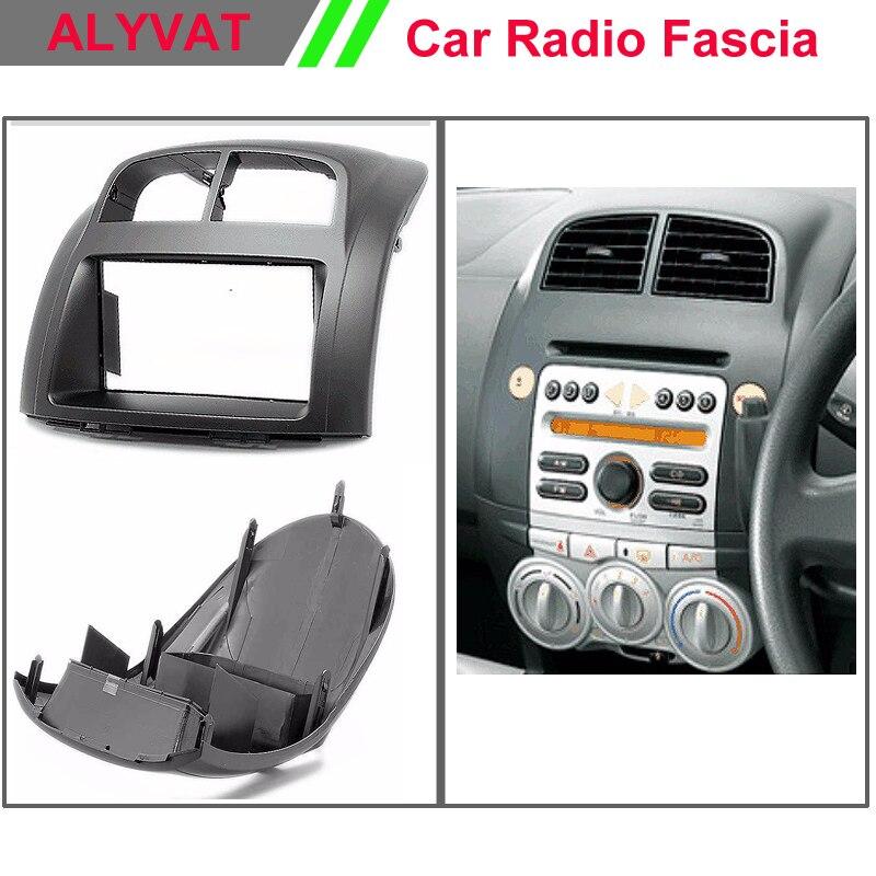 Top Quality Auto Car CD Radio Fascia for TOYOTA Passo / DAIHATSU Boon/ Justy/PERODUA Fascia Dash CD Trim Installation Kit