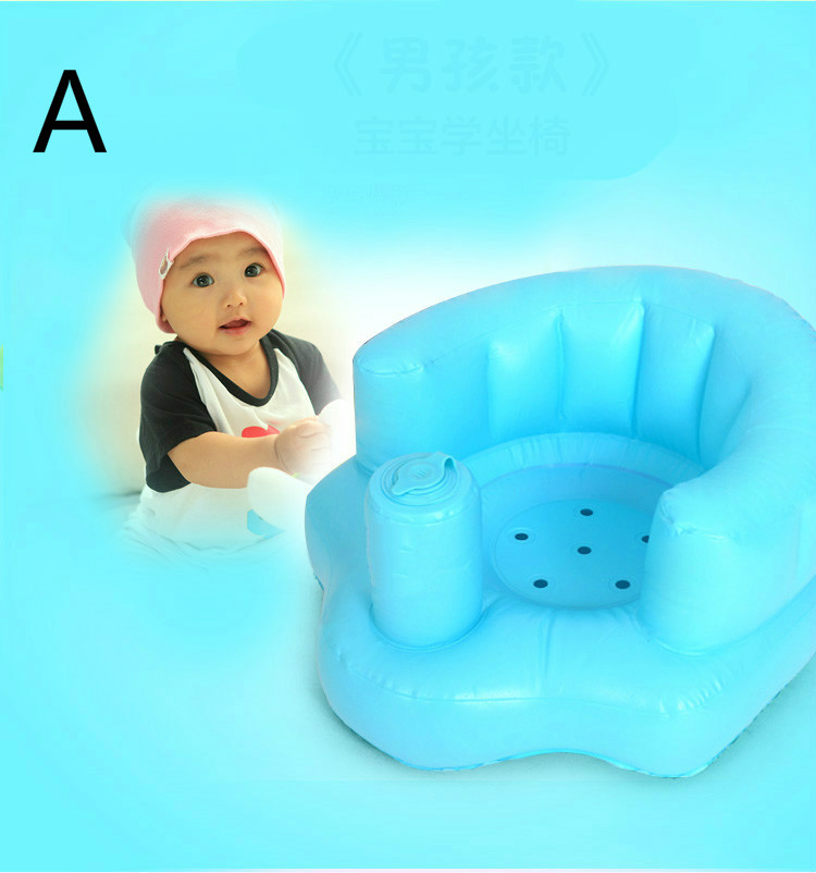 Multi-function Portable Baby Inflatable Sofa Safety Seat Bath Chair Dinner Chair Child Sofa T01 bath seat dining chair baby inflatable kids sofa baby chair portable baby seat chair play game mat sofa kids inflatable stool