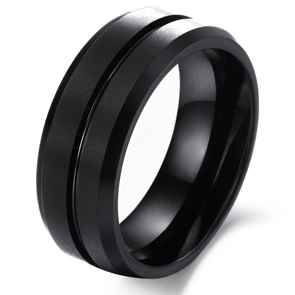 compare prices on mens black tungsten wedding bands- online