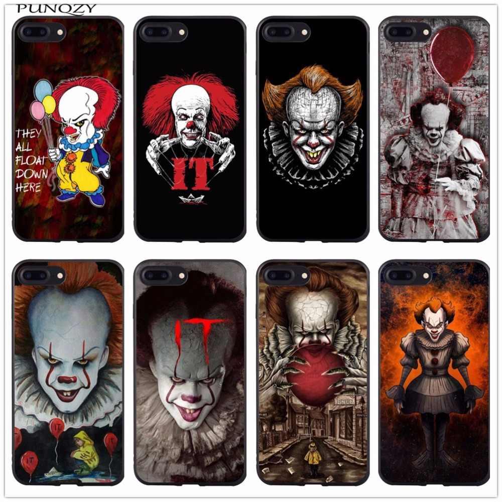 Мягкий силиконовый чехол для телефона Stephen king's it из ТПУ для Iphone X 10 6 6s Plus 7 7 Plus 8 8 Plus 5 5S SE Pennywise The Clown Horror